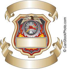 Feuerwehrschild III