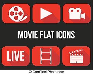 Film-Icons eingestellt.