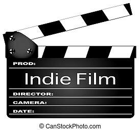 film, indie, film, clapperboard
