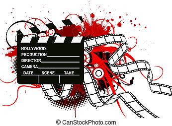 Film-Theme Hintergrund.
