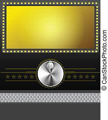 Filmbanner oder Leinwand