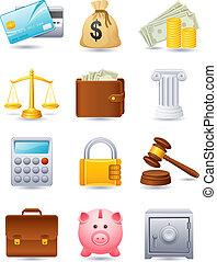 Finanz-Ikone