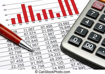 finanz, statistik
