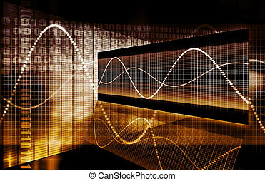 Finanzspezialist Techgrafikgrafik