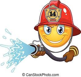 Fireman Emoticon.