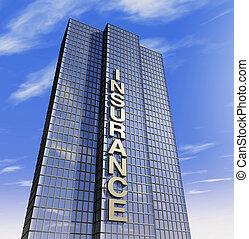 firma, headquartered, versicherung