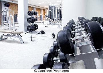 Fitness-Club Gewichtstraining Fitness-Studio.