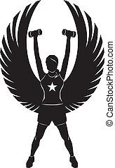 Fitness Engel.