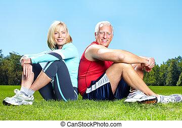 Fitness, Fitness, gesunder Lebensstil.