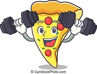 Fitness-Pizza-Charakter-Cartoon.