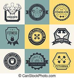 Fitness- und Sportstudio-Logos