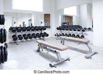 Fitnessclub-Währungs-Ausbildungsstudio