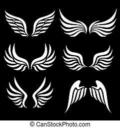 Flügel eingestellt