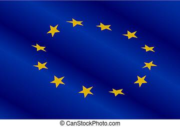 Flagge der Währungsunion