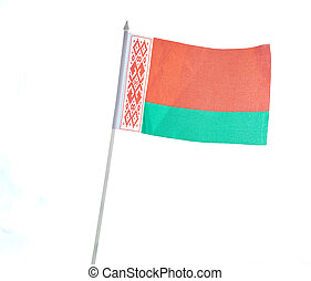 Flagge von Belarus.