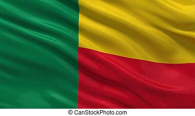 Flagge von Benin.