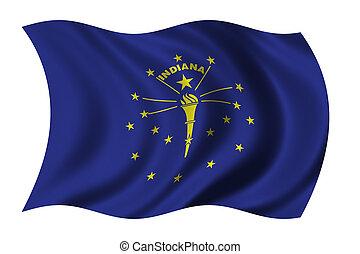 Flagge von Indiana