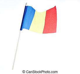 Flagge von Romania.