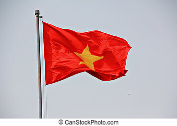 Flagge von Vietnam.