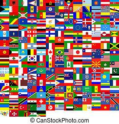 flaggen, beschaffenheit