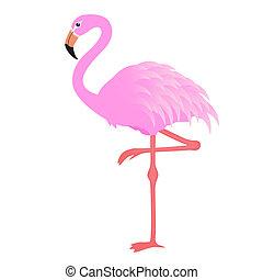 Flamingo-Vektor.