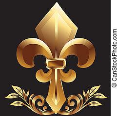 Fleur de lis, neues Orleans-Symbol