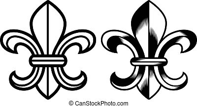 """Fleur de lis"" -Symbol"