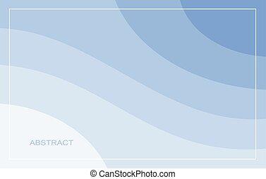 flieger, vektor, frei, web, hintergrund., raum, kopie, blaues, usw., abbildung, abstrakt, welle, banner, plakat, design