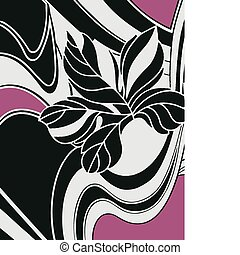 Floral-Card-Hintergrunddesign
