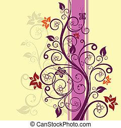 Floral-Design-Vektor Illustration