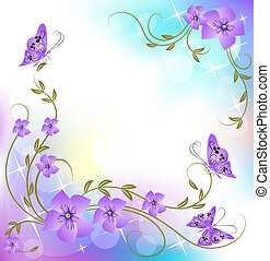 Floral Hintergrund