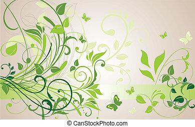 Floral Hintergrund.