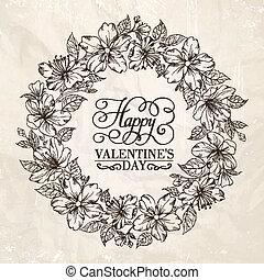 Floral Kranz - Valentinsdesign.
