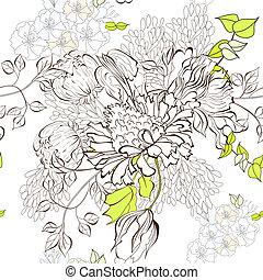 Floral nahtloser Hintergrund