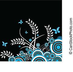 Floraler Vektor-Hintergrund