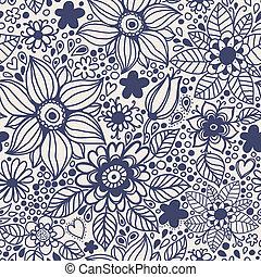 flowers., seamless, beschaffenheit