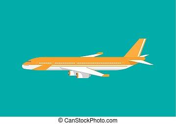 Fluggastflugzeuge der Zivilluftfahrt