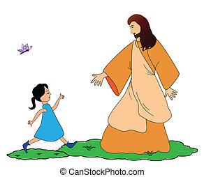 Folge Jesus.