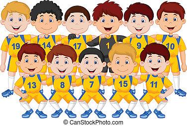 Football-Team-Cartoon.