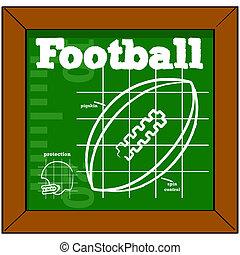 Footballunterricht.