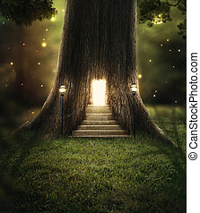 forest., bezaubert