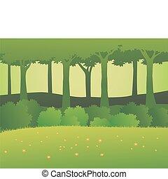 Forest Hintergrund