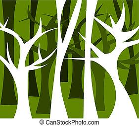 Forest illustriert