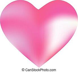 form, heart., hintergrund, gefärbt