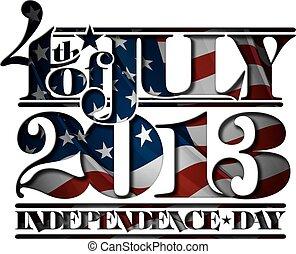 Forth of july 2013, Unabhängigkeitstagsausschnitt