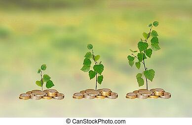 Fortschritt im grünen Geschäft.
