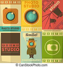 fotostudio, plakat