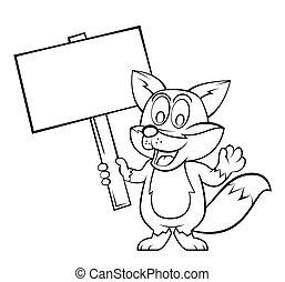Fox Cartoon.