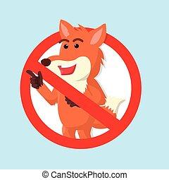 Fox verboten.