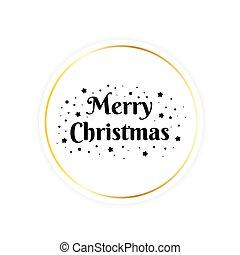 fröhlich, karte, gruß, weihnachten